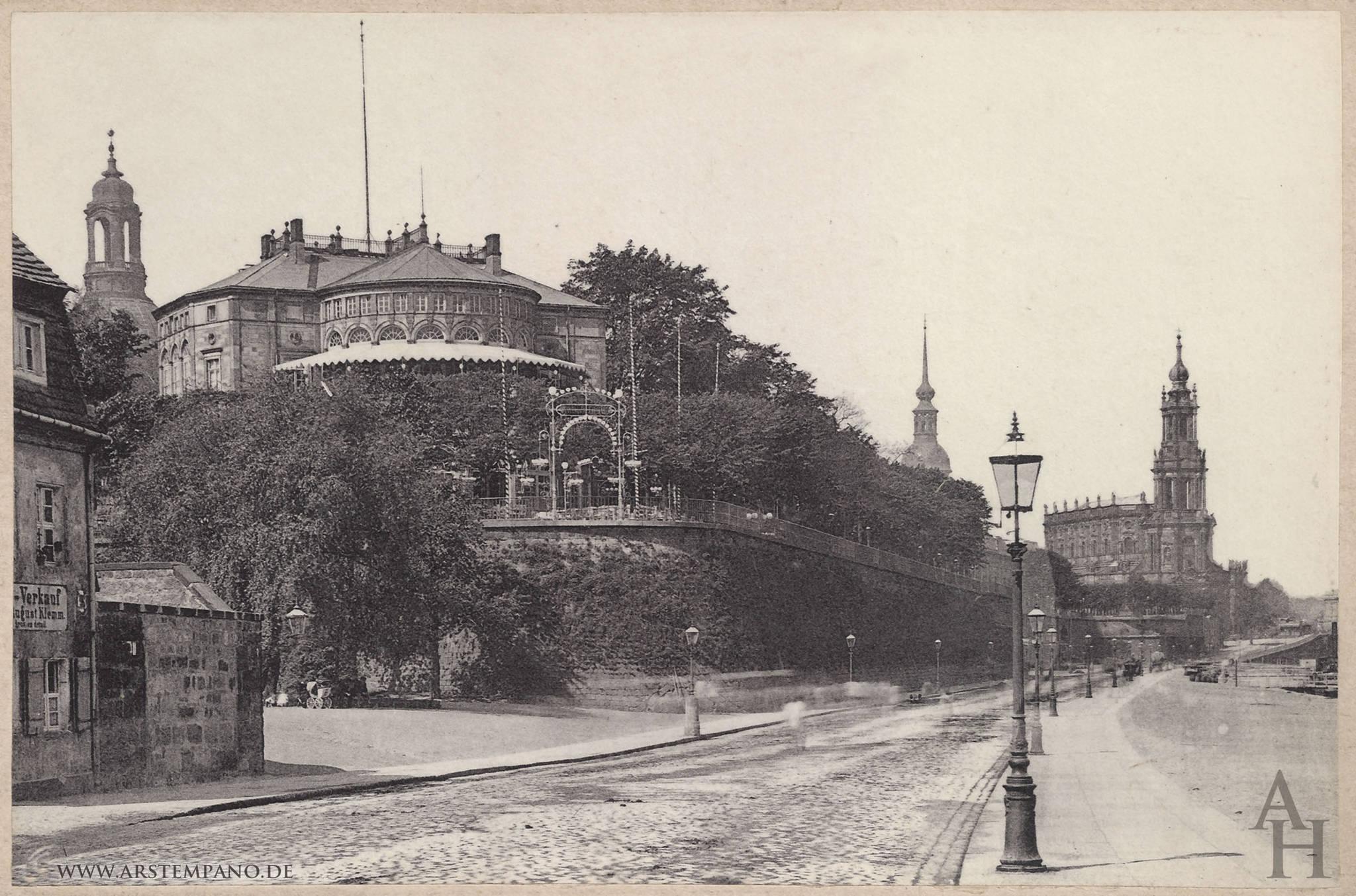 Bruhlsche Terrasse Dresden Arstempano