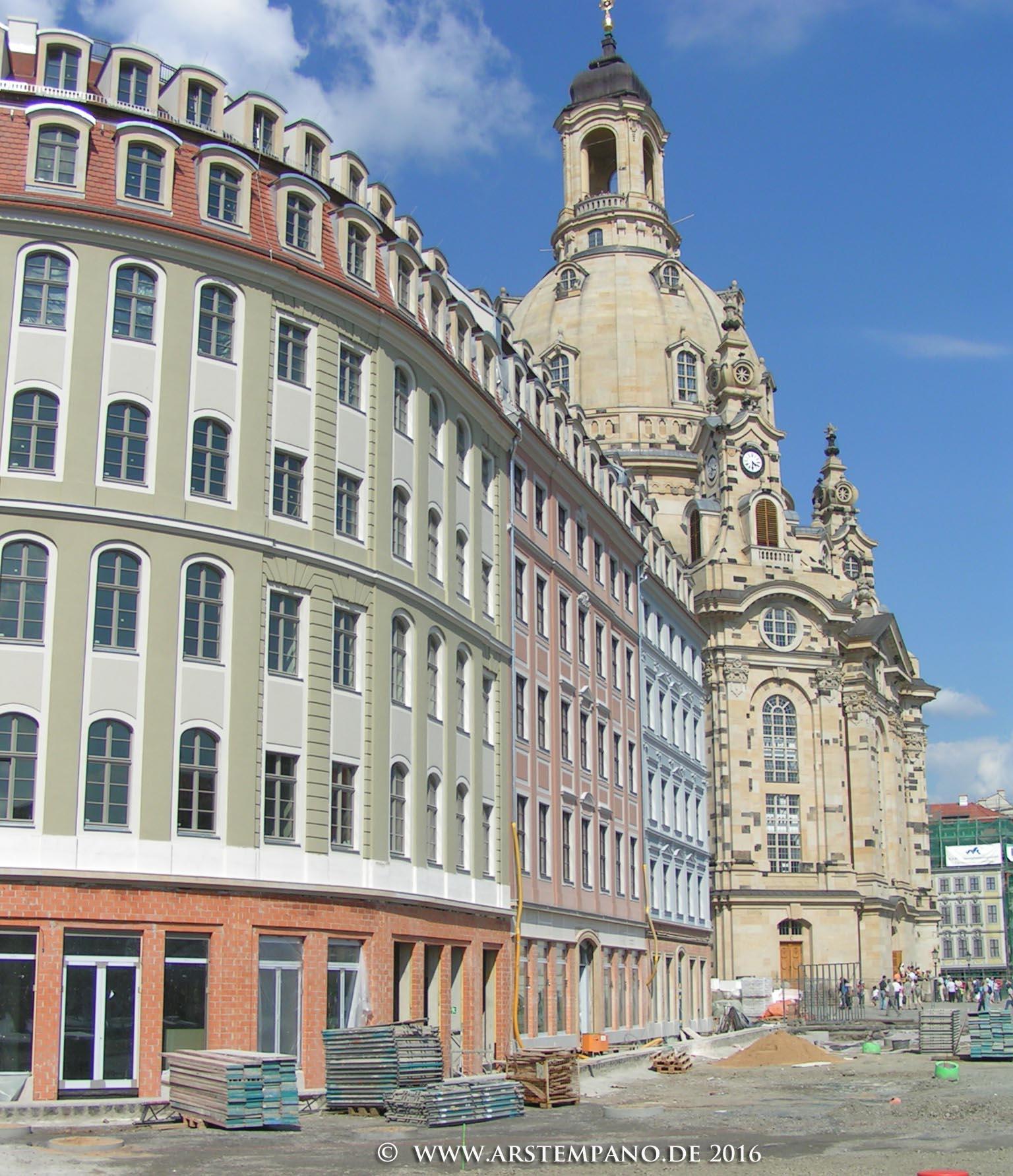 Wiederaufbau quartier qf arstempano for Hotel dresden frauenkirche